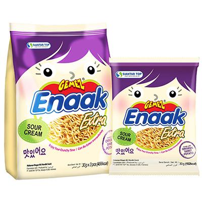 韓式小雞麵-酸奶地瓜味袋裝(30g/包,共3入)
