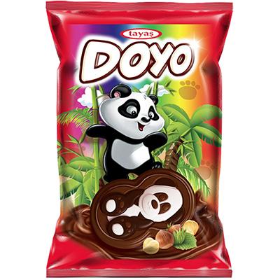 貓熊造型巧克力餅乾(40g*24入/盒)
