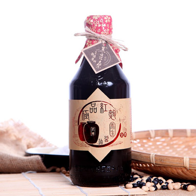 天然極品養生紅麴醬油(550ml±5%/瓶)