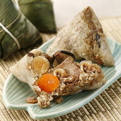 干貝蛋黃粽(180g*3入/包)
