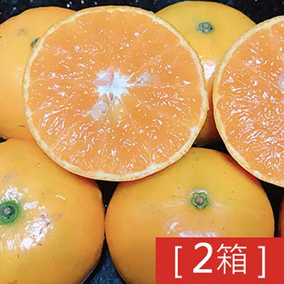 水果達人 古坑香甜多汁珍珠茂谷柑(40顆)2箱