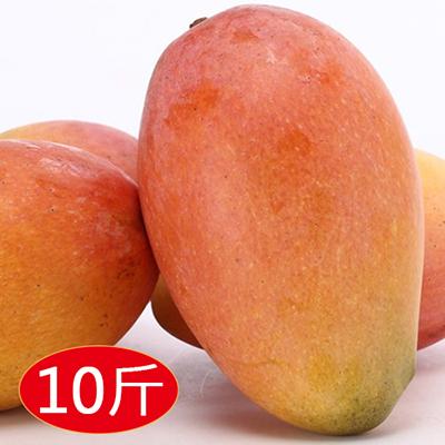 紅龍水蜜桃芒果10斤(大粒)