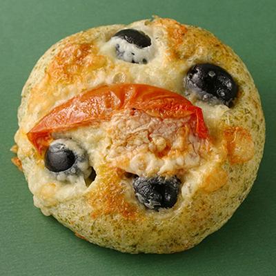 黑橄欖起司麵包(奶素)(64g±5%/包)