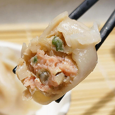 明太子巴沙魚手工水餃 (500g/1盒/20顆)