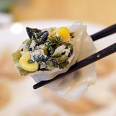 碧綠海菜手工水餃 (500g/1盒/20顆)