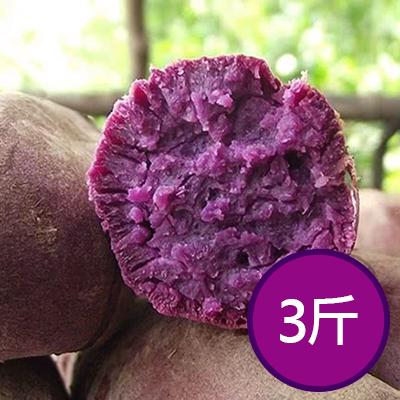 日本品種生紫黑玉地瓜3斤