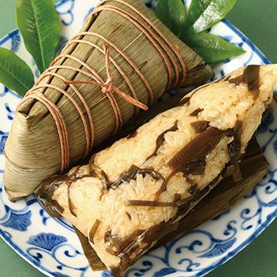 潮州鹹粽-昆布(全素粽)(4入/包)