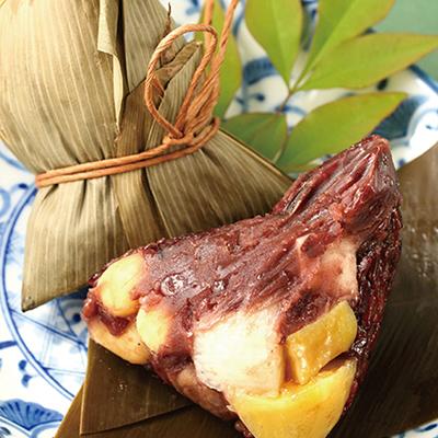 紫米山藥桂圓粽-甜(全素粽)(6入/包)