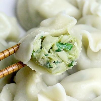 媽媽手工水餃-韭菜(50粒/900g/包)