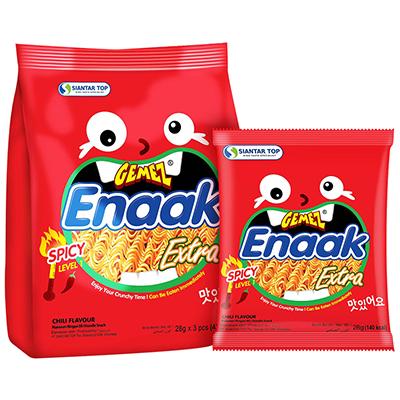 韓式小雞麵-香辣味袋裝(28g*3包/袋)