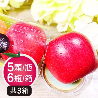紐西蘭Rockit樂淇櫻桃小蘋果(6瓶入)*3箱