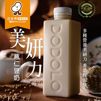 薏仁豆奶(1000ml±5%/瓶,共3瓶)