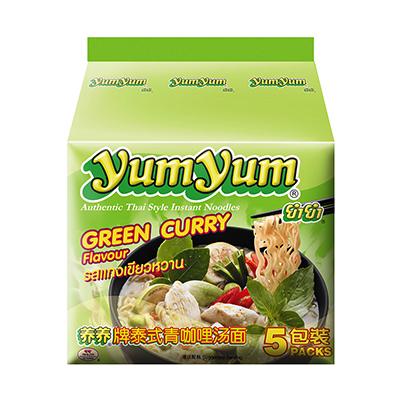 養養泰式綠咖哩味麵(70g*5入/袋)