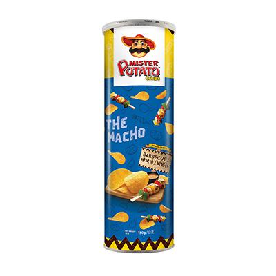 薯片先生-燒烤味(130g/罐)