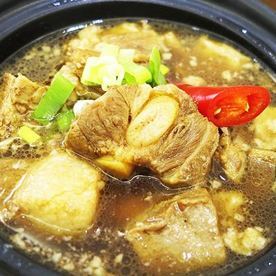 梁師傅家傳滷豬肋排(450g/包)
