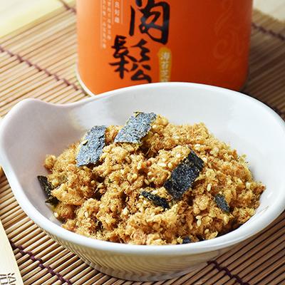 海苔芝麻雞肉鬆(160g/罐)