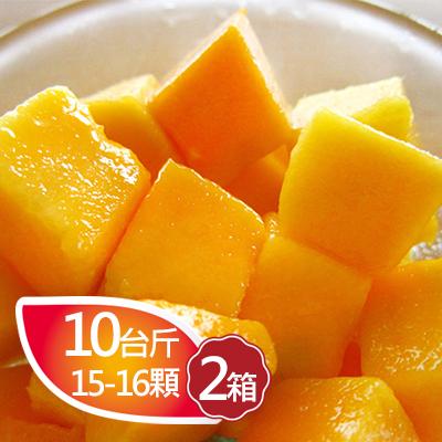 枋寮愛文芒果10台斤(15-16顆)*2箱