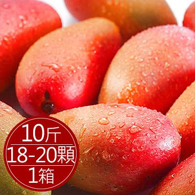 枋寮愛文芒果10台斤(18-20顆)*1箱
