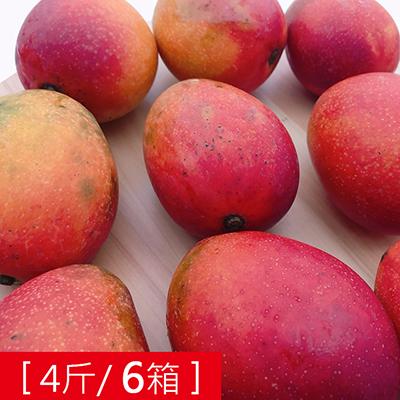 枋山產地直送-香甜愛文芒果(4斤)*6箱
