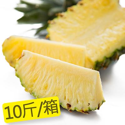 屏東迷你金鑽牛奶甜蜜鳳梨(10斤/箱)