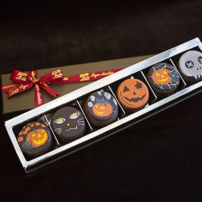 巧克力馬卡龍-萬聖節限定(六顆入/盒)