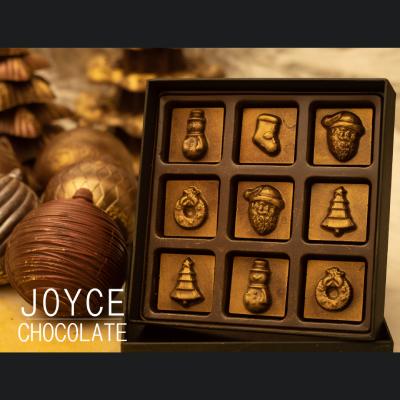 造型巧克力-聖誕節限定(9顆/盒)