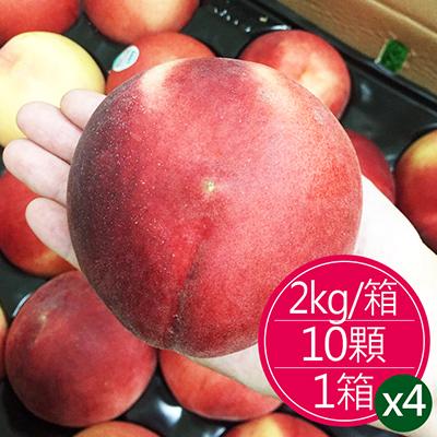 加州水蜜桃(10顆)*4箱