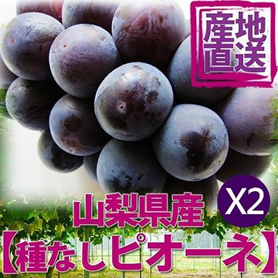 日本山梨縣溫室貓眼葡萄(350g)*2盒