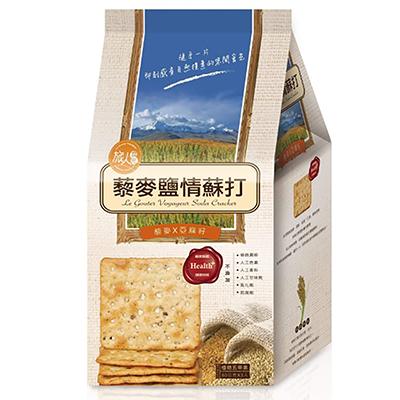 藜麥鹽情蘇打(80g*3入/袋)