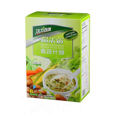 青蔬什錦糙米粥(40g*6入/盒)