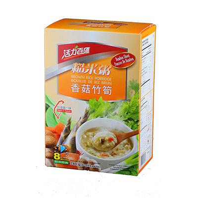 香菇什錦糙米粥(40g*6入/盒)