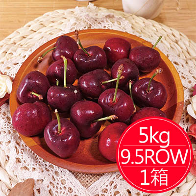 西北華盛頓9.5ROW櫻桃(5公斤)*1箱