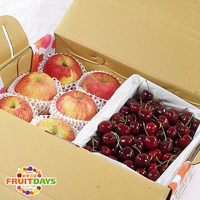 夏季王牌禮盒組(智利蘋果+美加櫻桃)