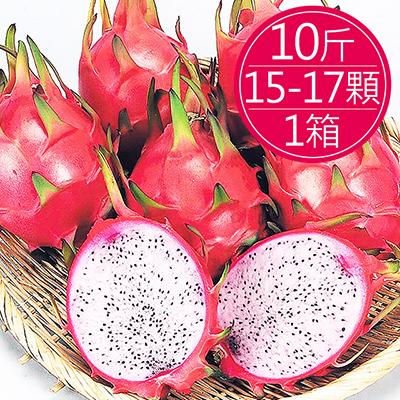 嚴選白肉火龍果(10斤(15-17顆入/箱)