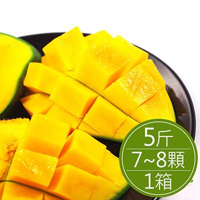 台南玉井黑香芒果(5斤/箱)