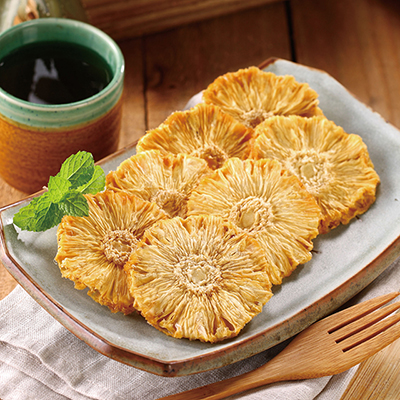 100%鳳梨無糖天然鮮果乾(80g±5%/包)