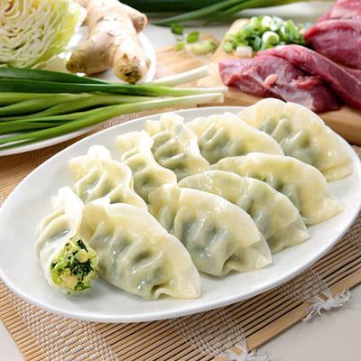 豬肉韭菜熟水餃(1700g(約100粒)/包)