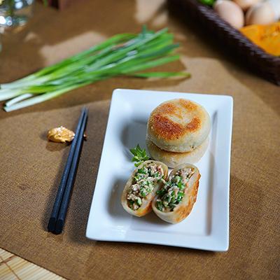 田野韭菜餡餅(700g±5%/包(約10顆)