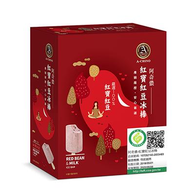 紅寶紅豆冰棒(85g*4支/盒)