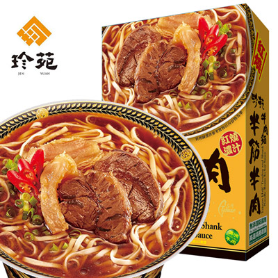 紅燒半筋半肉牛肉麵(530g/盒)