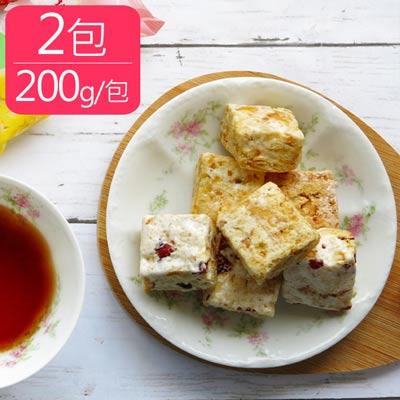 奶香手作雪Q餅2包(200g±10%/包)