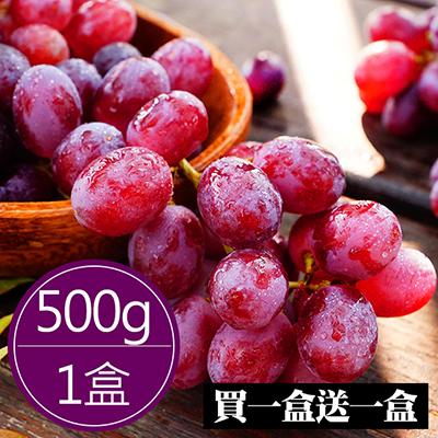 暴甜荔枝無籽葡萄(500g)買一盒送一盒