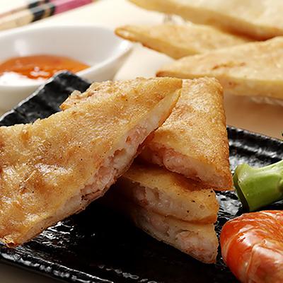 月亮蝦餅(附酸辣醬包)(190±5%/包)