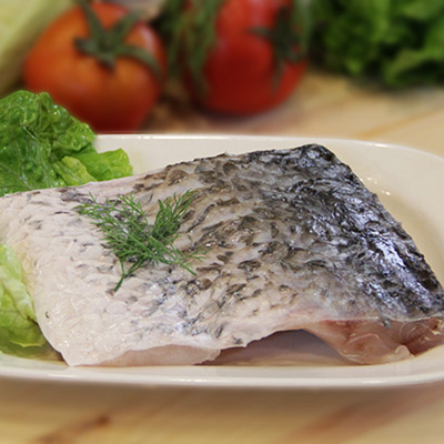 養殖金目鱸魚排(250g/包)