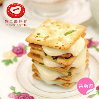 原味蔥軋餅(16g*10包/袋,共兩袋)