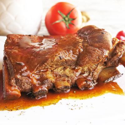 美式BBQ烤豬肋排(450g/包)(約1-2人份)