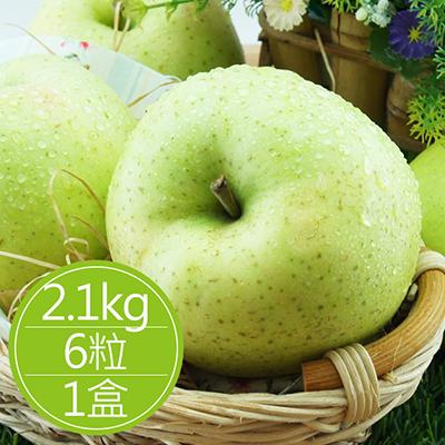 日青森水蜜桃蘋果(2.1kg/6粒)*1盒