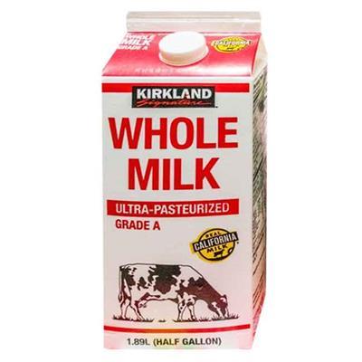 熊媽媽 美式賣場科克蘭全脂鮮乳1.89L