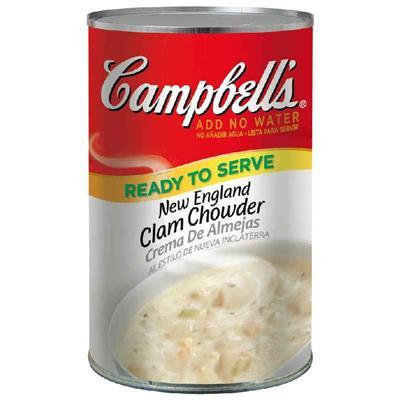 美式賣場 Campbe新英倫l蛤蠣濃湯1.44kg
