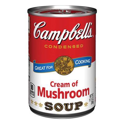 美式賣場Campbell 奶油蘑菇濃湯298g